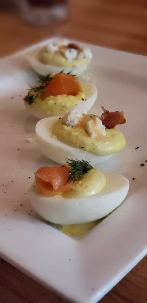 Cellar 6 Deviled Egg. Love and Art Meet In Romantic St. Augustine