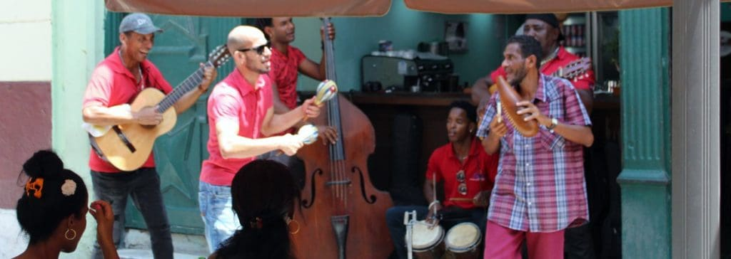 Cuban music in Old Havana