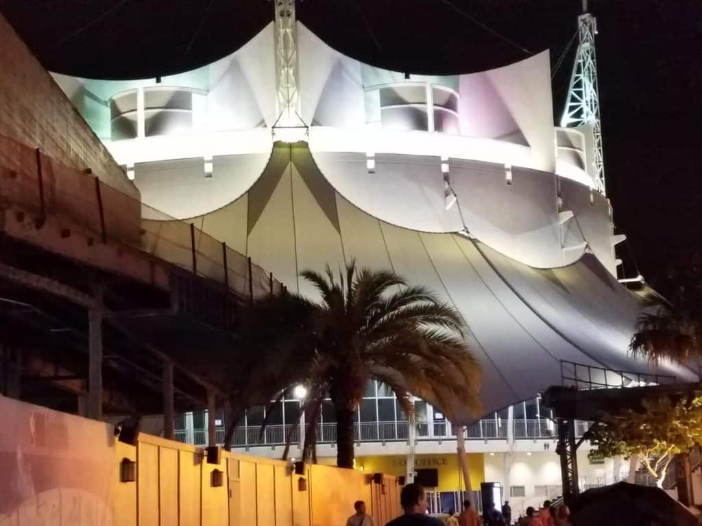 Entrance to Disney Springs, Orlando, Florida