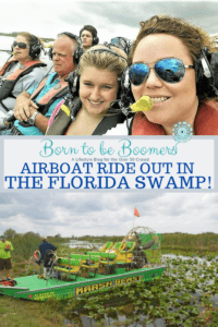 Airboat ride in the Florida Swamp