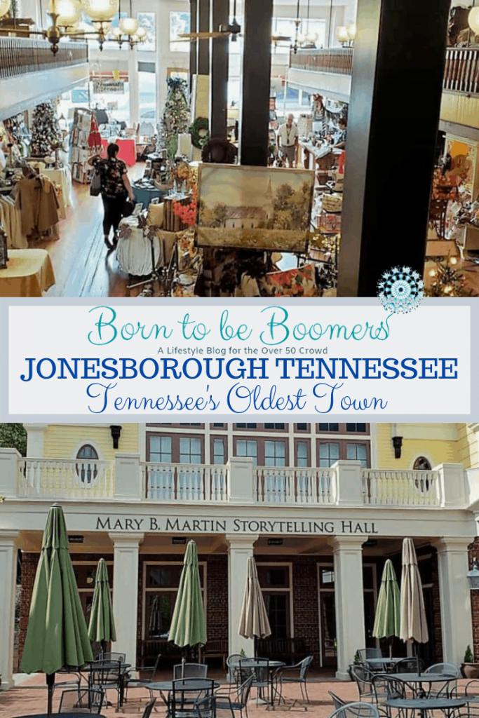 Jonesborough Tennessee's oldest Town