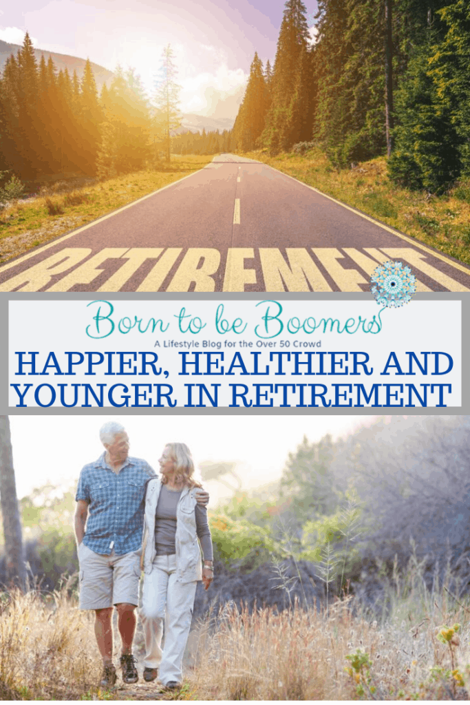 Happier, Healthier and Younger in Retirement