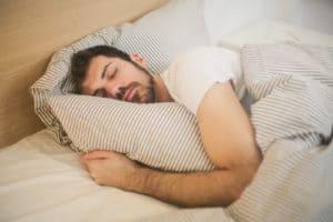 Man Sleeping Saw Palmetto Flomentum