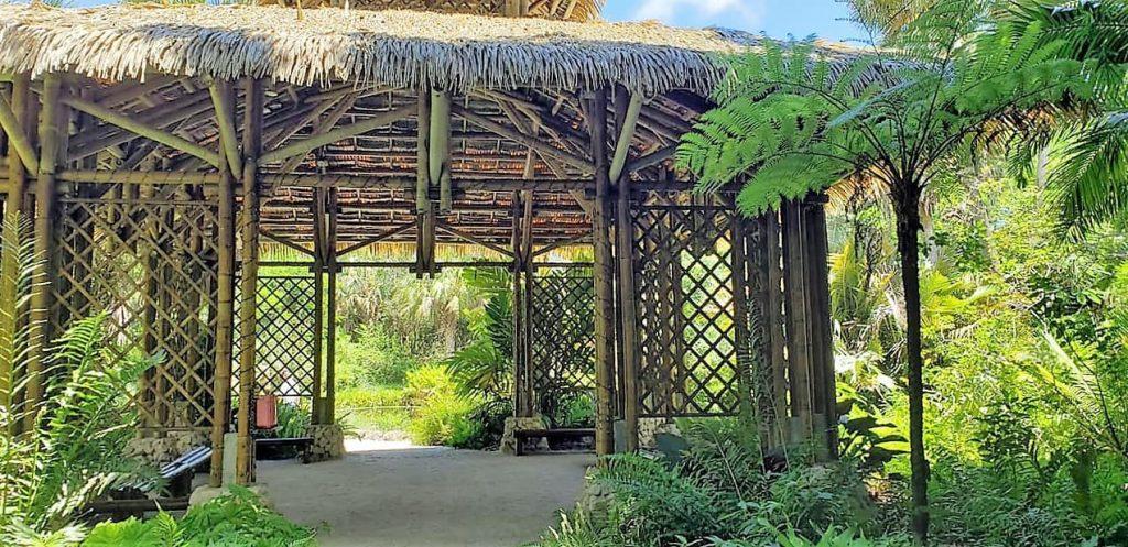 Bamboo Pavilion, McKee Botanical Gardens