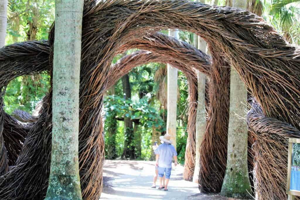 Grand Central by Patrick Dougherty @ McKee Botanical Gardens